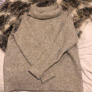 Aritzia knit turtle neck